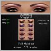 EyE Make up ''N''1 Full perm PSD//PNG Skin Creator