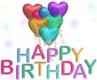 AJ HAPPY BIRTHDAY BANNER #101