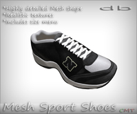 *db* Mesh Unisex Sport Shoes col. 9 Detailed Leather Texture Sneaker