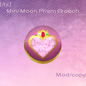 [ity.] Sailor Mini Moon Prism Brooch