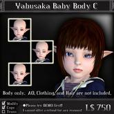 < Yabusaka > Baby mesh avatar C