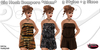 .:Glamorize:. Gia Mesh Rompers *Glam* (3 Styles in 5 Sizes Each)