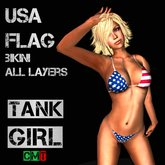 *TG* - United States Flag Bikini
