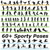 60+ Sporty Poses