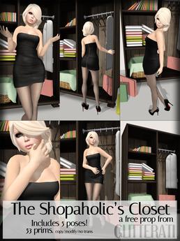 GLITTERATI - The Shopaholic's Closet // FREE!