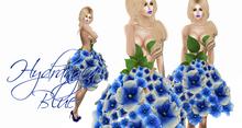 Boudoir -Hydrangea Dress Blue