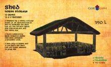 Shed - Torvaldsland rustic medieval viking