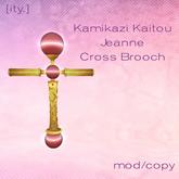 [ity.] Kamikazi Kaitou Jeanne Cross Brooch