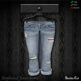 Shabby Cat Boyfriend Jeans - worn