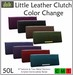 ::Duh!:: Little Leather Clutches - Color Change (8 colors)
