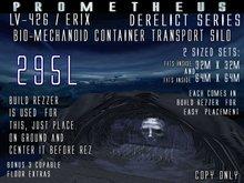 Prometheus: bio-mechanoid CONTAINER TRANSPORT SILO