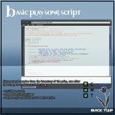 [Black Tulip] Script - Basic Play Song Script