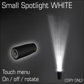 Small Spotlight White