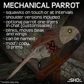 Mechanical Parrot .:SHD:.