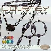 *La Forgia Jewels - Journey Set BLACK LEATHER*