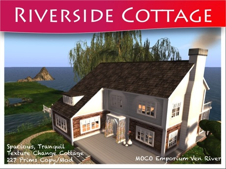 Moco Emporium -  Riverside Cottage [Texture Change COPY/MODIFY]