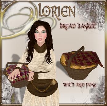 LORIEN Bread Basket