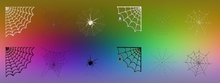 12 alpha spiderweb textures - full perm - spiderwebs