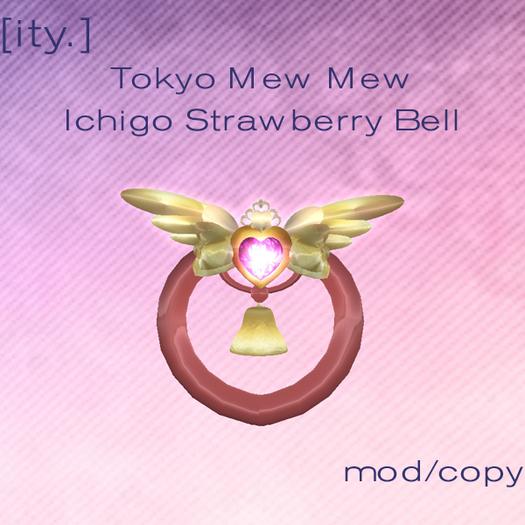 [ity.] Tokyo Mew Mew Ichigo Strawberry Bell