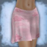 """Mini skirt mesh """"Hibiscus Pink"""""""
