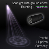 Spotlight with ground effect 6