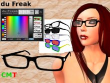 du Freak Classic eyeglasses /w HUD for color size and shade
