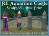 RE Aquarium Castle Set - Underwater, Fish Tank or Garden Decoration!