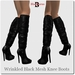 Wrinkled%20black%20mesh%20boots%20with%20zipper%201