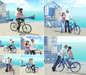{what next} {what next} Bicycle Love - Pose Prop