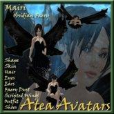 Mairi Obsidian faery Avatar