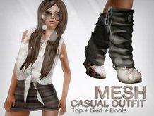 MESH CASUAL OUTIF #01 *YAKO* OLD BRAND