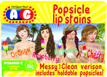 (Ag) popsicle lipstains