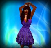 Purple Little Dress