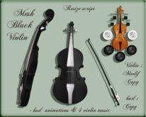 Mesh Black Violin