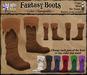 *LightStar - Fantasy Boots