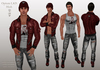 Opium Street Punk Red Male (copy) (boxed)