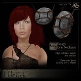 .Eldritch. Stone Necklace ~ Rough
