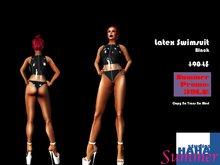 !Black Latex Swimsuit :: SUMMER PROMO!!!