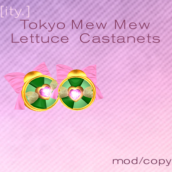 [ity.] Tokyo Mew Mew Lettuce  Castanets