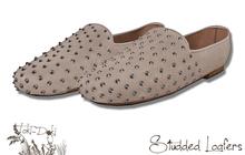 (TokiD) studded loafer (tan)