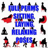 45+ Sitting, Laying, sleeping, Furniture Poses