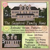 ~La'Licious~ The Sapphire Family Home - Extended {Boxed}