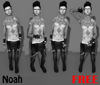[Expressive Poses ] - Noah FREE