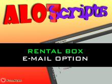 Editables ! Rental Box Scripts