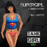 *TG* - Supergirl Loungewear