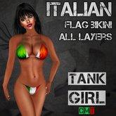 *TG* - Italian Flag Bikini