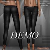 DE Designs-Skinny Leather Pants-DEMO *Mesh*