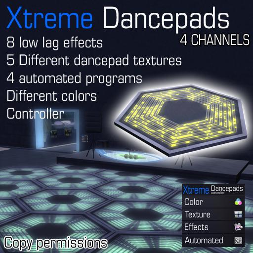 Xtreme Dancepads Dancefloor system 4 channels