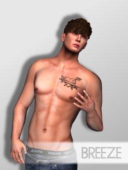 STAKEY - Breeze Male Shape & Poses