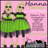 [C*K] Hanna in LIME *ALMOST FREE*
